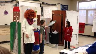 Odyssey of the Mind 2014- Not so haunted house