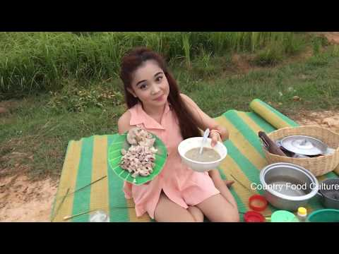 Village Food Factory - Beautiful Girl Cooking - Asian Food (9)