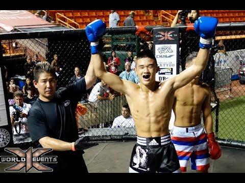 2 Christian Lee vs Charles Naone : Hawaii Kickboxing