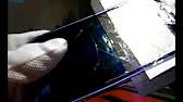 Замена стекла камеры на Samsung Galaxy S2 i9100 - YouTube