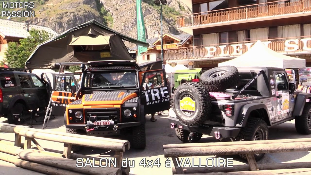 salon du 4x4 de valloire youtube. Black Bedroom Furniture Sets. Home Design Ideas