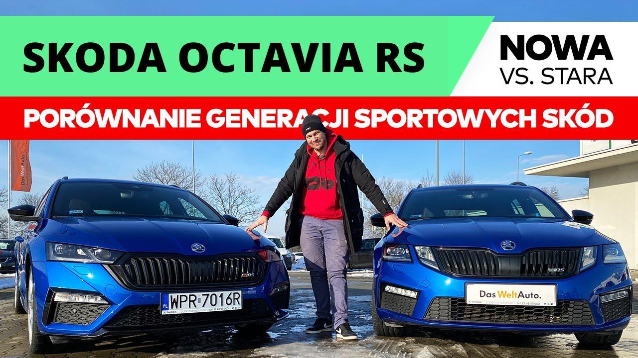 Skoda Octavia RS 2021 kontra jej poprzedniczka. - YouTube