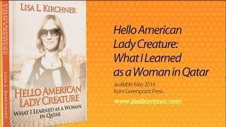 Hello American Lady Creature book trailer!