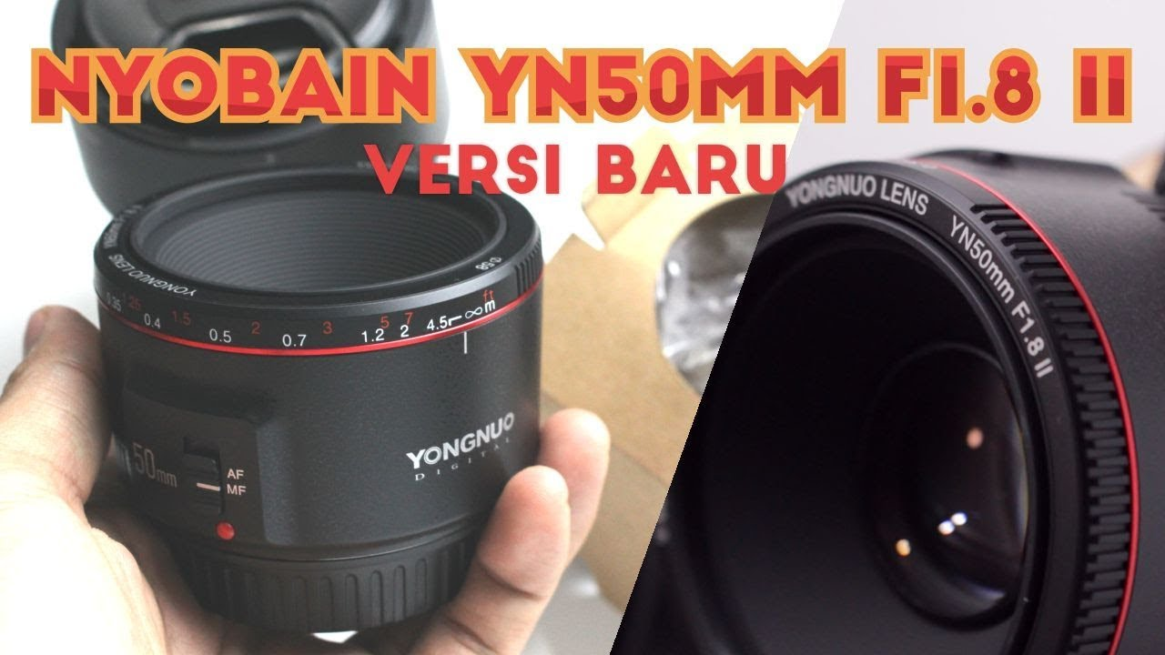 Yongnuo Lensa Fix Yn50mm F18 For Nikon