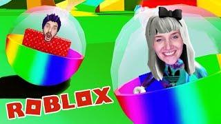 Roblox: NINA + KAAN IM GLASKUGEL-RENNEN BEI SUPER BLOCKY BALL!