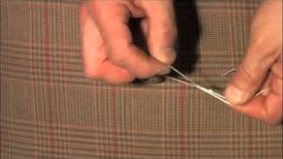Upholstery slipknot