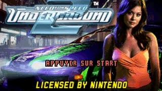 Game Boy Advance Longplay [072] Need for Speed Underground 2