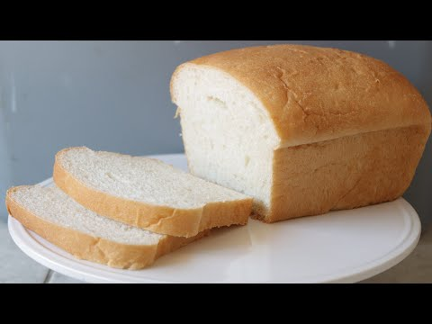 How to Make White Bread - Easy Amazing Homemade White Bread Recipe