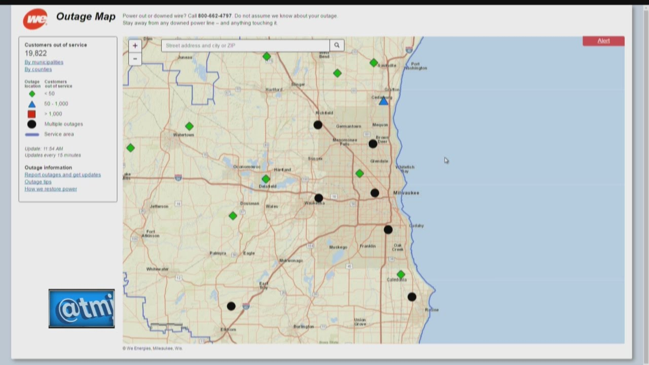 Nearly 15 000 Without Power In Southeast Wisconsin After Thursday