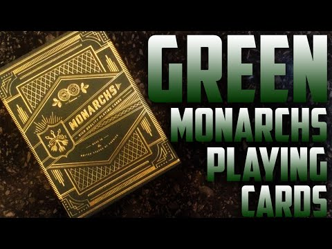 Deck Review - Green Monarchs Theory11 Playing Cards [HD]