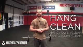 Northstate CrossFit: Hang Clean - Power & Squat