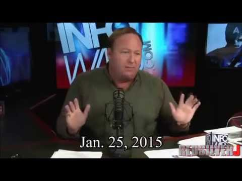 Alex Jones is an Absolute Shill Sellout, He does not work for us 100% Proof [Mirrored]