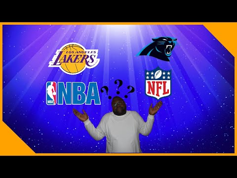 Carolina Panthers And Los Angeles Lakers Fan Tells You Which Is Better The NBA Or NFL?!!|LCameraTV