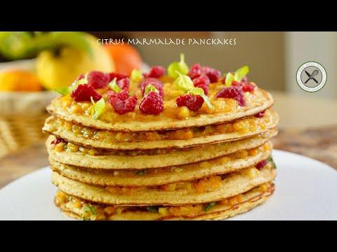 Citrus Marmalade Pancake Breakfast🇺🇸🇫🇷Bruno Albouze – THE REAL DEAL