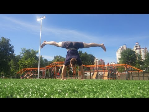 Awesome urban street workout
