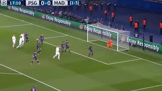 PSG vs Real Madrid 1-2 | Espn | Fernando palomo.