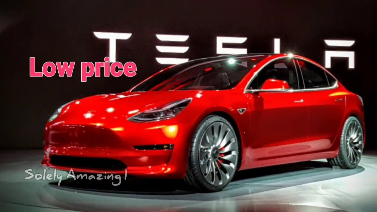 Tesla Model 3 Electric Car Specifications Features Total Cost In India Hindi