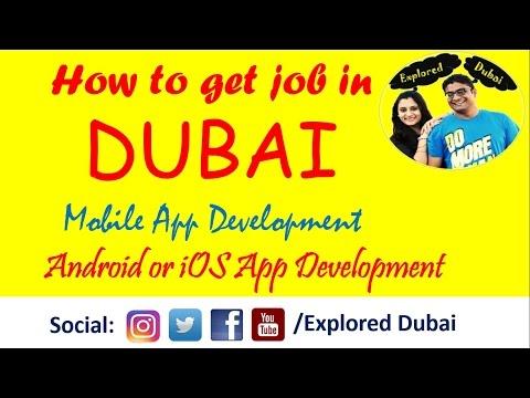 How to get job in Dubai | Mobile Application Development Jobs in Dubai