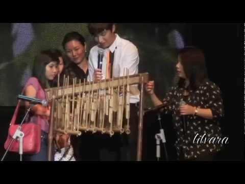 [HD FANCAM] Lee Minho plays Angklung