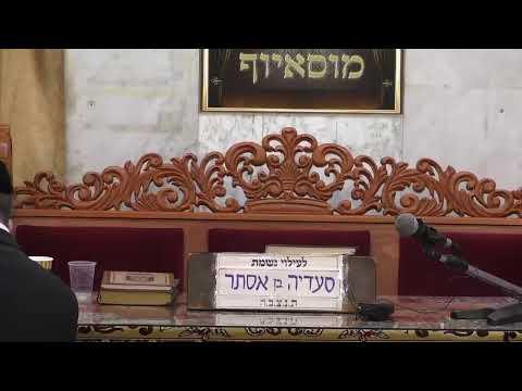 שידור חי בית הכנסת מוסיוף יום שני 22.7.19