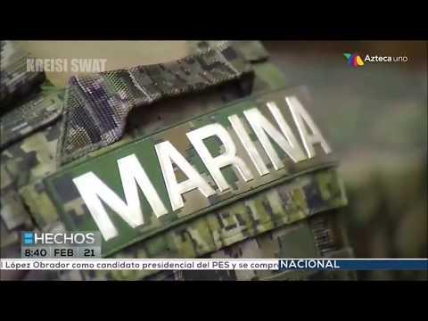 Entrenamiento de los UNOPES de la Marina Armada de México - Reportaje