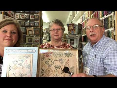 Deb Hodges Completes the AC Bluebird Quaker Sampler