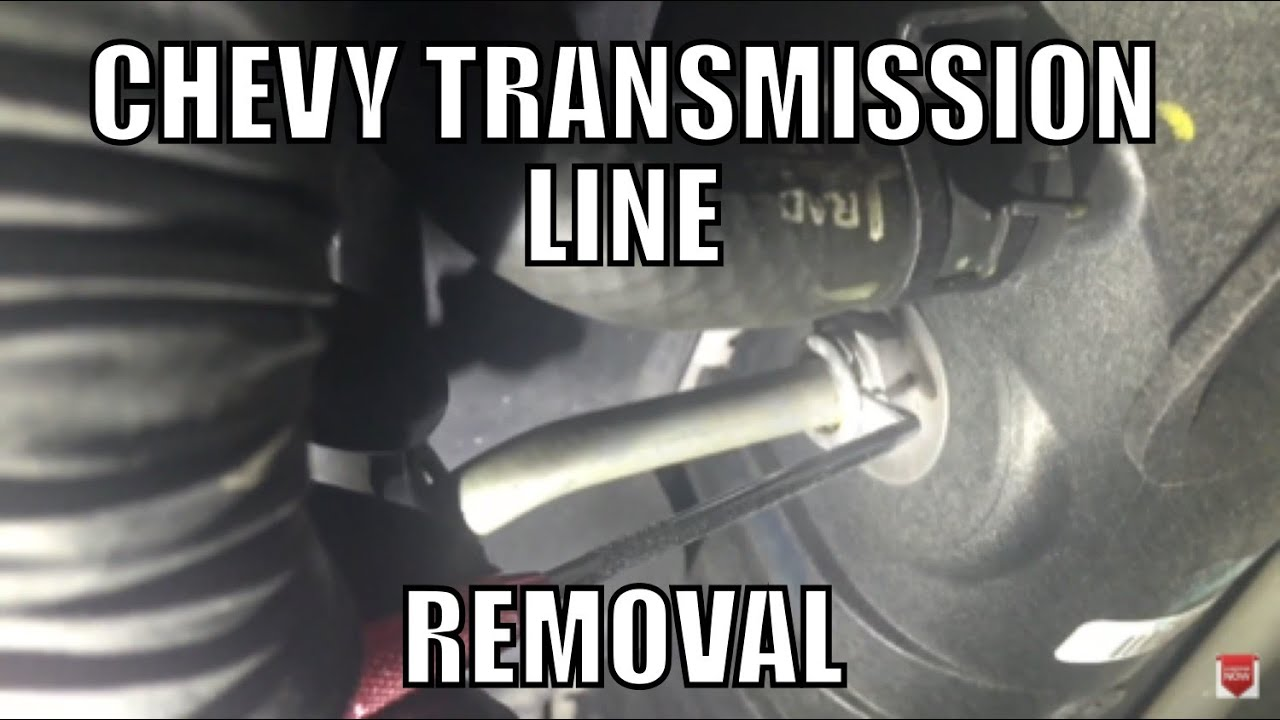 08 chevy silverado transmission cooler line removal should work on most chevys cadillacs [ 1280 x 720 Pixel ]
