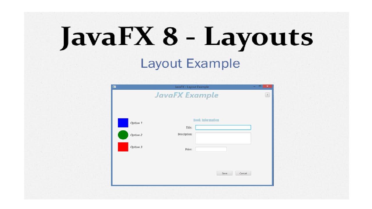 javafx 8 tutorial layouts example 13 youtube