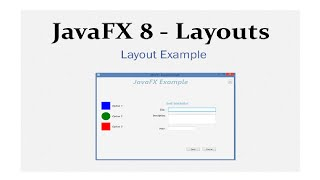 JavaFX 8 Tutorial - Layouts Example #13