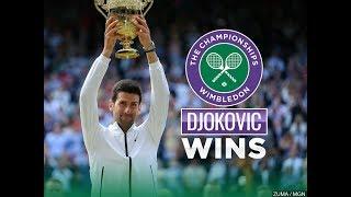Novak's Wimbledon Winning Tactic