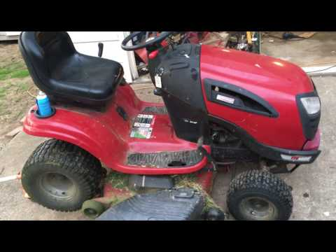 Fixing Slipping Transmission On Sears Craftsman Riding Mower