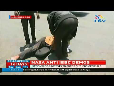 Toyota SUV hits NASA demonstrators in Nairobi