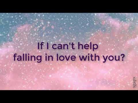 Joseph Vincent  - Can't Help Falling In Love (Lyrics Video)