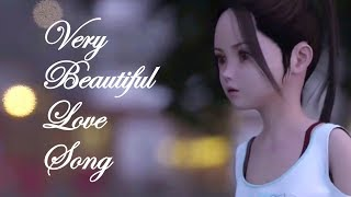Cute Girl Love Song Animated