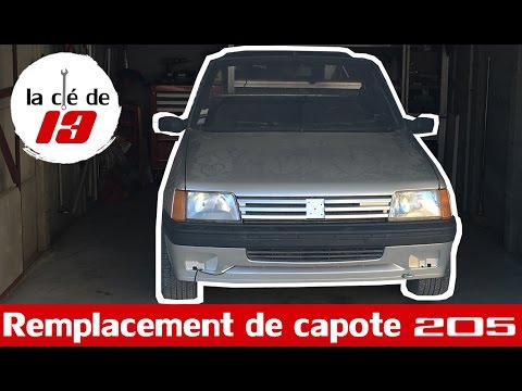 REMPLACEMENT DE CAPOTE 205 3/4