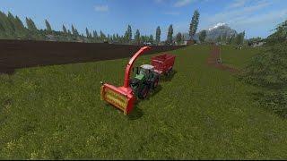 Walkthrough  Hallo Leute Herzlich Willkommen zu meinen neuen Video von Landwirtschafts Simulator 2017 PC Version.  Ich arbeite auf der Map Goldcrest Valley.  In dieser Mod vorstellung geht es um den Mod Silage Fräse, eine Fräse auf der ich lange gewartet