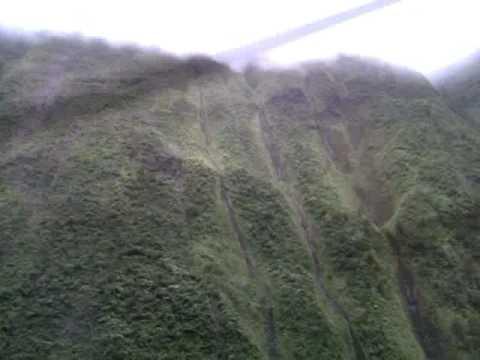 Mt. Waialeale. Helicopter 07-25-10.