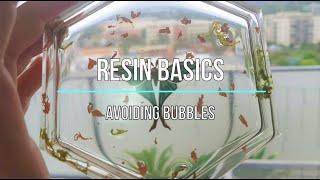 Resin Basics | Avoiding Bubbles | Seriously Creative