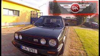 Забираем VW Golf 2 GTI 16V, поездка в Польшу, отвез Mustang на реставрацию!