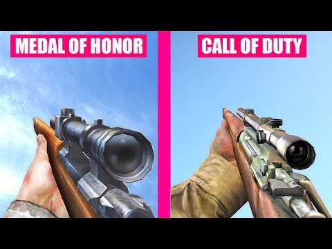 Call of Duty Gun Sounds vs Medal of Honor Allied Assault