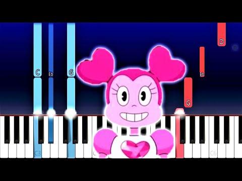 Steven Universe The Movie - Drift Away (Piano Tutorial)