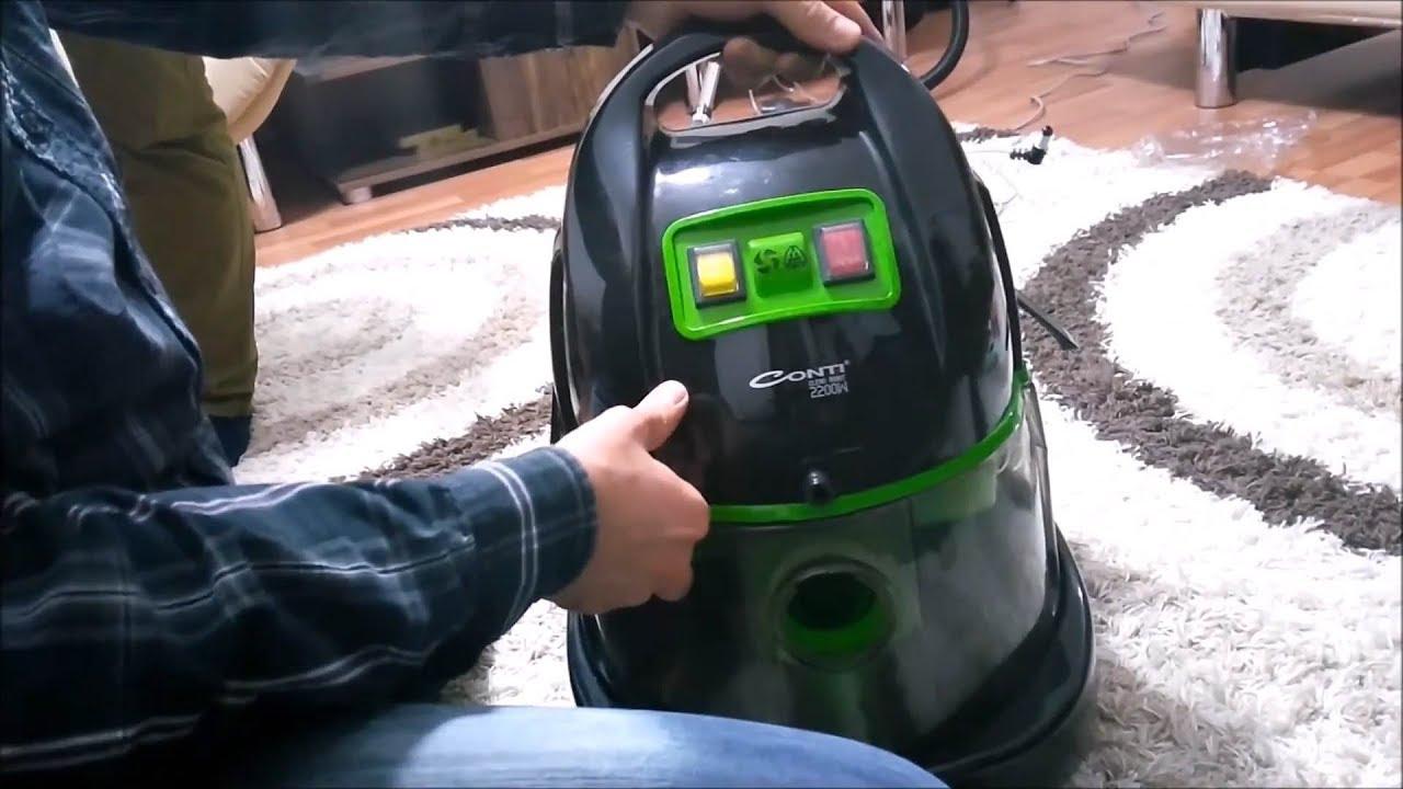 Conti CHY-204 Temizlik Robotu, Halı Yıkama Makinası İnceleme ve Kullanma Videosu