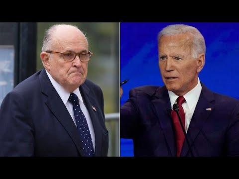 Giuliani's Oppo Research On Biden BACKFIRES