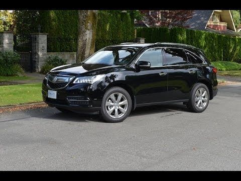 2014 Acura MDX review - YouTube
