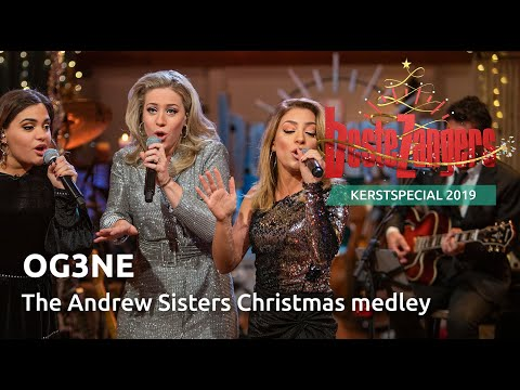 OG3NE - The Andrew Sisters Christmas medley | Beste Zangers Kerstspecial 2019