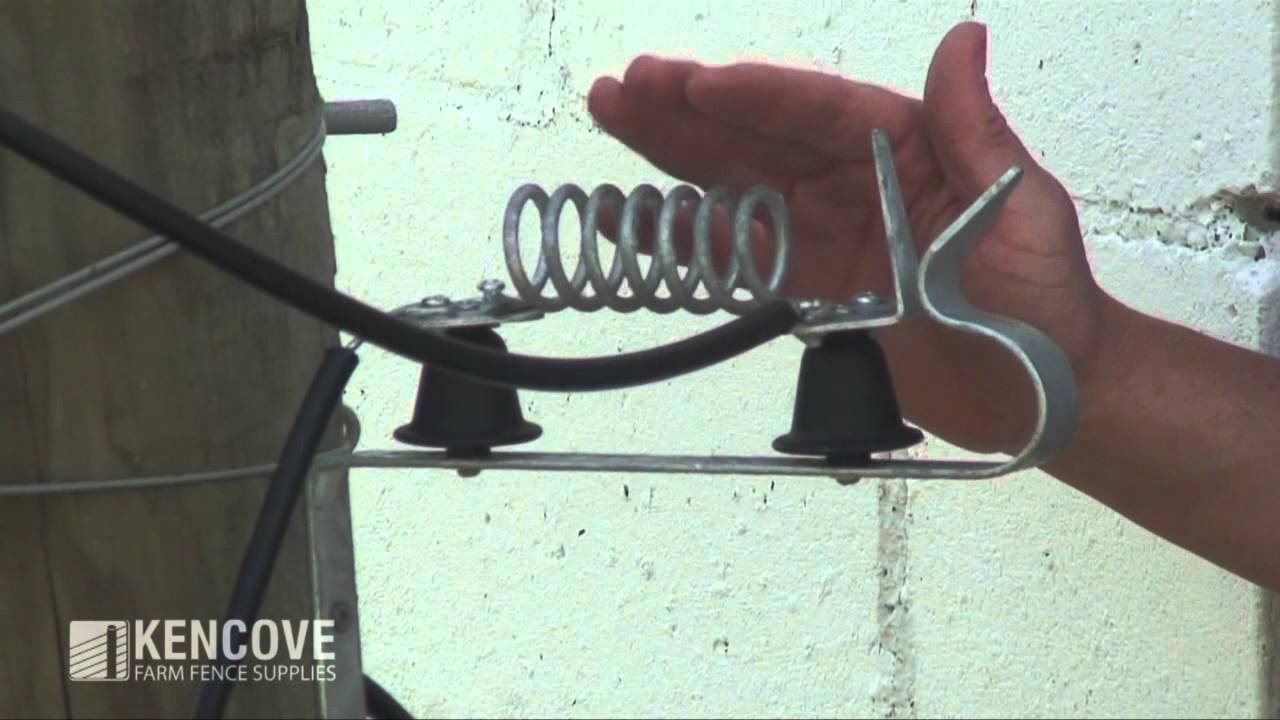 Electric Fence Lightning Diverter 101 Youtube