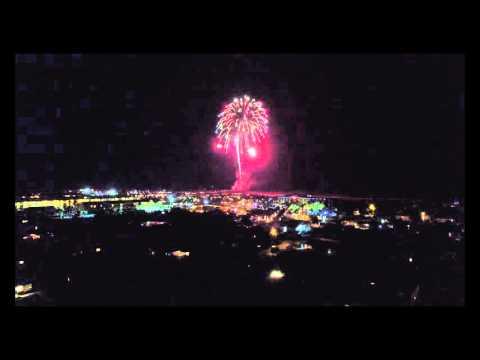 New Year's Fireworks 2016 - Saint Augustine Beach, FL