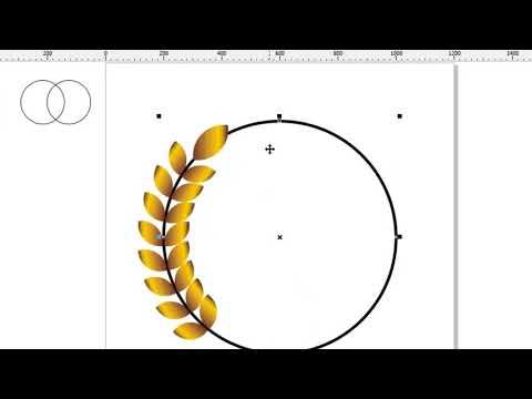 CorelDraw 3# HOW STEP TO MAKE SIMPLE LOGO : Cara Membuat Logo Simple Untuk Stempel Dan Institusi.