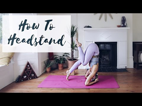 HOW TO DO A HEADSTAND | Sirsasana A & B | CAT MEFFAN