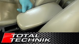 How to Remove Arm Rest Lid - Audi A4 S4 RS4 - B6 B7 - 2001-2008 - TOTAL TECHNIK